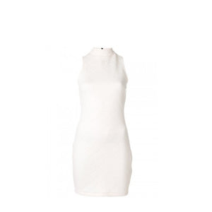WMNS DIAMOND EMBOSSED DRESS (CORE WHITE)