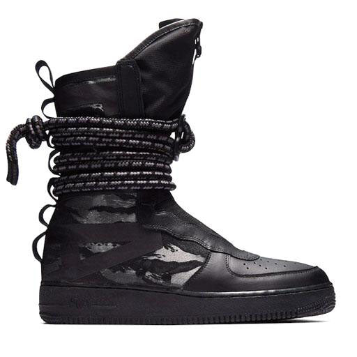 NIKE - SF AIR FORCE 1 HI (BLACK/DARK GREY)