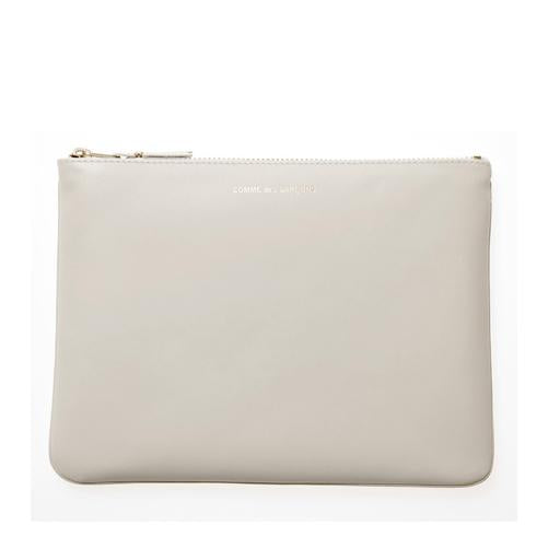 COMME DES GARCONS - CLASSIC LEATHER POUCH (OFF WHITE)