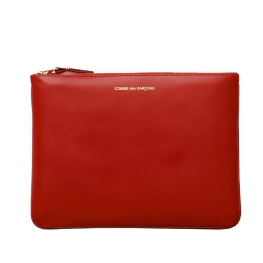 COMME DES GARCONS - CLASSIC LEATHER POUCH (RED)