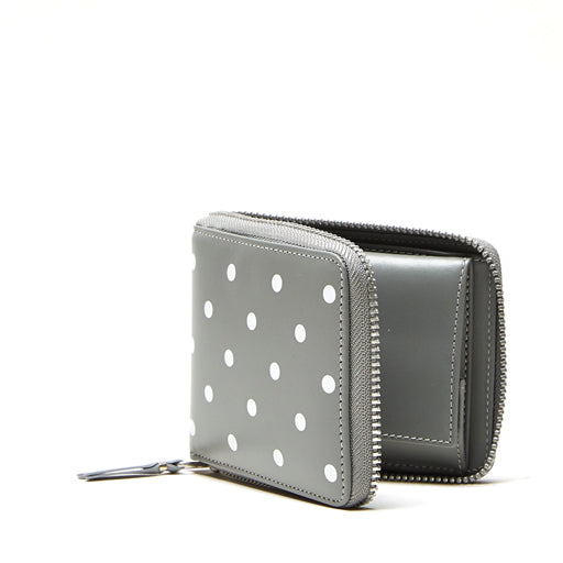 WALLET POLKA DOTS PRINTED (Grey SA7100PD)