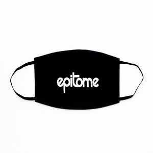 Epitome Printed  Logo Filtered Face Mask