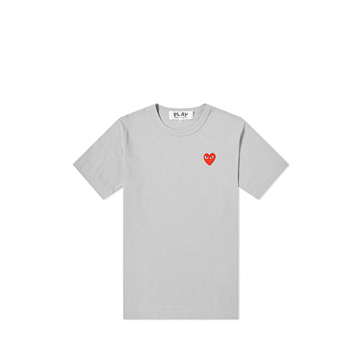 Play Color Series T-Shirt Red Heart (Grey)