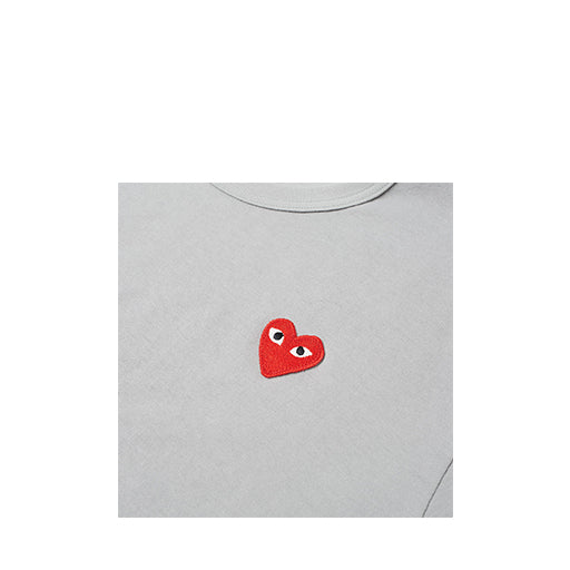 Comme des Garcons PLAY Color Series T-Shirt Red Heart
