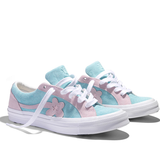 CONVERSE x TYLER THE CREATOR - ONE STAR GOLF LE FLEUR (PLUME/ PINK MARSHMELLOW)