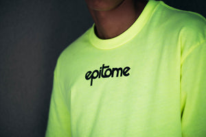 Epitome Highlighter Green short sleeve Tee