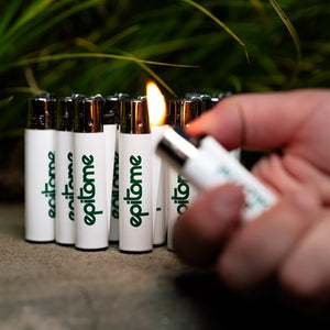 "Epitome ""GREEN"" Clipper Lighter"