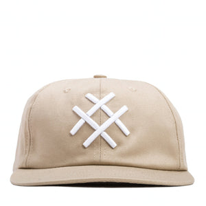 LUCID FC - 6-PANEL HAT (NATURAL)