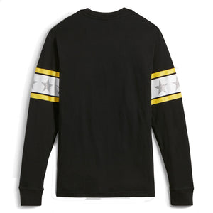 CONVERSE x MADEME - LONG SLEEVE TEE (BLACK)