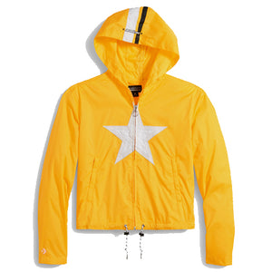 CONVERSE x MADEME - HOODED TRACK JACKET (YELLOW)