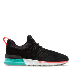 NEW BALANCE - MS 574 DOA (BLACK/TIDEPOOL)