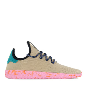 ADIDAS x PHARRELL WILLIAMS - PW TENNIS HU (TAN/TEAL/PINK MARBLE)