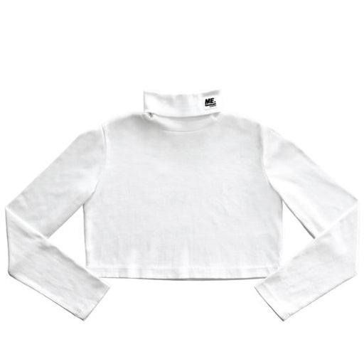REEBOK X MELODY EHSANI - M.E. CROP TURTLENECK (WHITE)