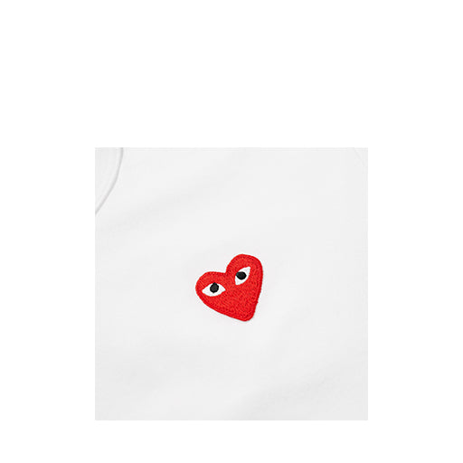 Comme des Garcons PLAY T-Shirt with Polka Dot Bottom Heart