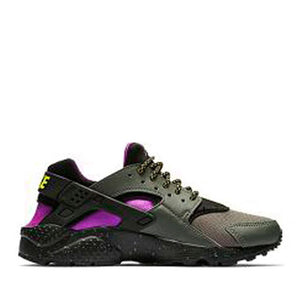 NIKE - AIR HUARACHE RUN SU (RIVER ROCK/BRIGHT CACTUS/BLACK)