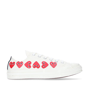 Comme des Garcons X Converse PLAY Converse Multi Heart Chuck Taylor All Star '70 Low Top