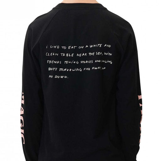 WOOD WOOD  HAN LONG SLEEVE - BLACK