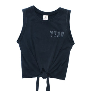 TIE UP MUSCLE TANK