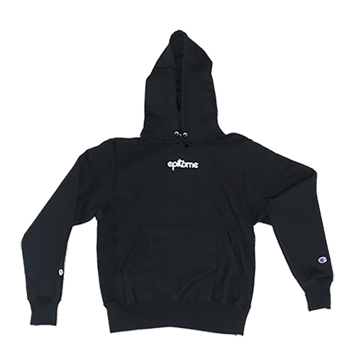 EPITOME OF A CHAMPION HOODIE (12 oz. BLACK)