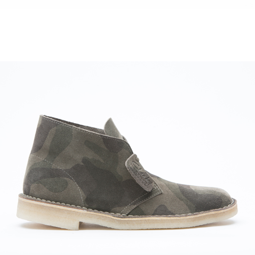 CLARKS - DESERT BOOT (BROWN CAMO)