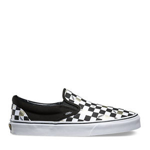 VANS - 50TH ANNIVERSARY SLIP-ON (BLACK/GOLD/CHECKER)