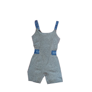 YEAR OF OURS - OPEN BACK ONSIE (GREY/BLUE)