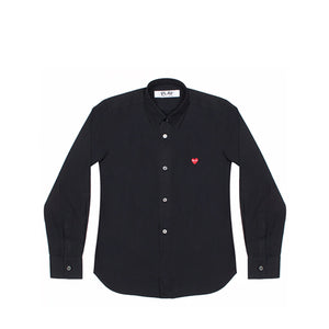 W Comme des Garçons Little Heart Button Up Shirt