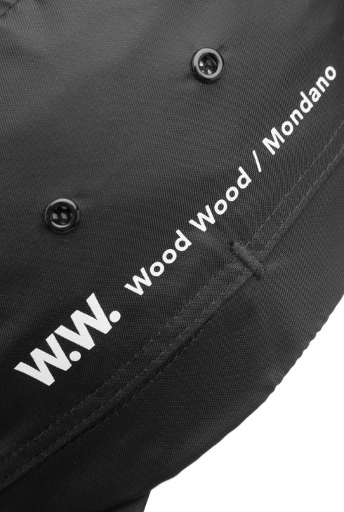 WOOD WOOD  MOVEMENT CAP- Black