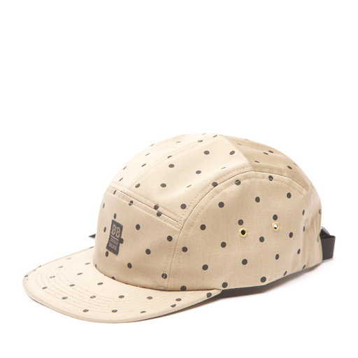 STUSSY - POLKA DOT CAMP HAT TAN
