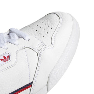 CONTINENTAL 80 (WHITE / SCARLET / COLLEGIATE NAVY)