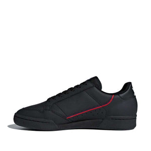 ADIDAS - CONTINENTAL 80 (CORE BLACK / SCARLET / COLLEGIATE NAVY)