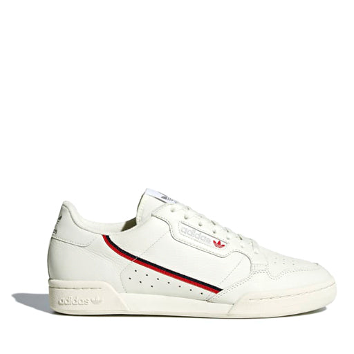 ADIDAS - CONTINENTAL 80 (OFF WHITE / OFF WHITE / SCARLET)