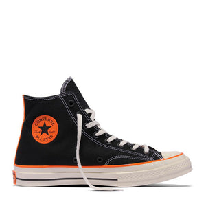 CONVERSE x VINCE STAPLES - CHUCK 70 HI (BLACK/VIBRANT ORANGE)