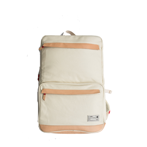 EPITOME x HEX - NATURAL STATE SNEAKER BACKPACK (WAXED NATURAL CANVAS)