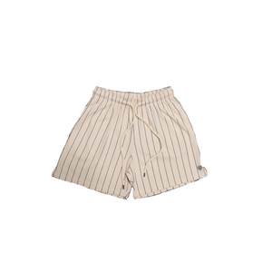 YEAR OF OURS - PINSTRIPE P.E. SHORTS (CREAM/BLUE)