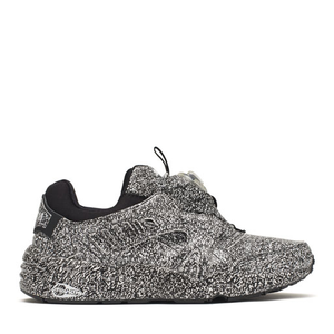 "PUMA x TRAPSTAR - DISC BLAZE ""WHITE NOISE"" (BLACK/WHITE)"