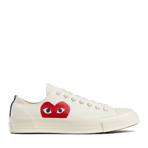 Comme des Garcons X Converse PLAY Chuck Taylor All Star '70 Low