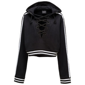 PUMA x FENTY by RIHANNA BLACK RISING SUN LACING SWEATSHIRT