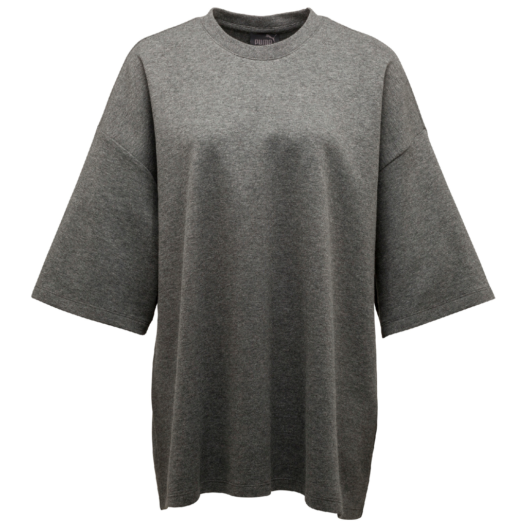 PUMA x FENTY by RIHANNA GREY OVERSIZED CREW NECK T-SHIRT