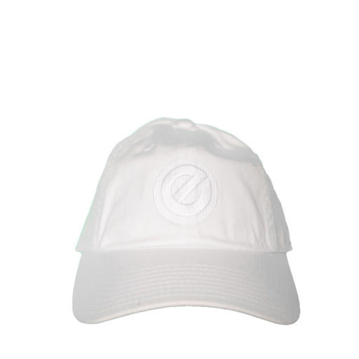 "EPITOME ""E"" LOGO DAD HAT (WHITE)"