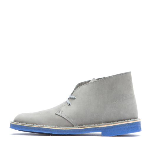 CLARKS - DESERT BOOT (GREY/BLUE)