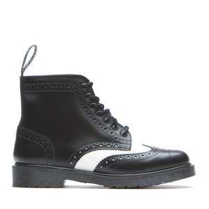 DR. MARTENS - AFFLECK (BLACK/WHITE)