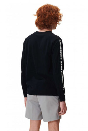 WOOD WOOD  HAN LONG SLEEVE - NAVY