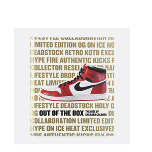 """OUT OF THE BOX:  THE RISE OF SNEAKER CULTURE"" BOOK"