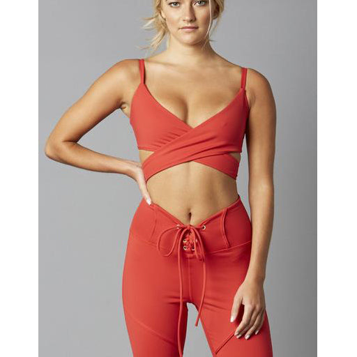 WRAP AROUND TIE BRA