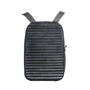HEATHEN - RIDGED BACKPACK (BLACK)