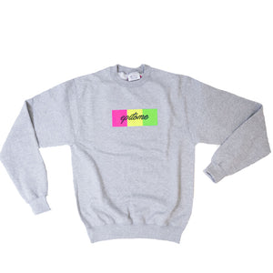 "EPITOME x CHAMPION - ""1995"" RETRO CHAMPION CREWNECK (GREY/ MULTI)"