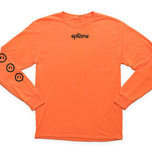 EPITOME - HIGH LIGHT LONG SLEEVE TEE (ORANGE)
