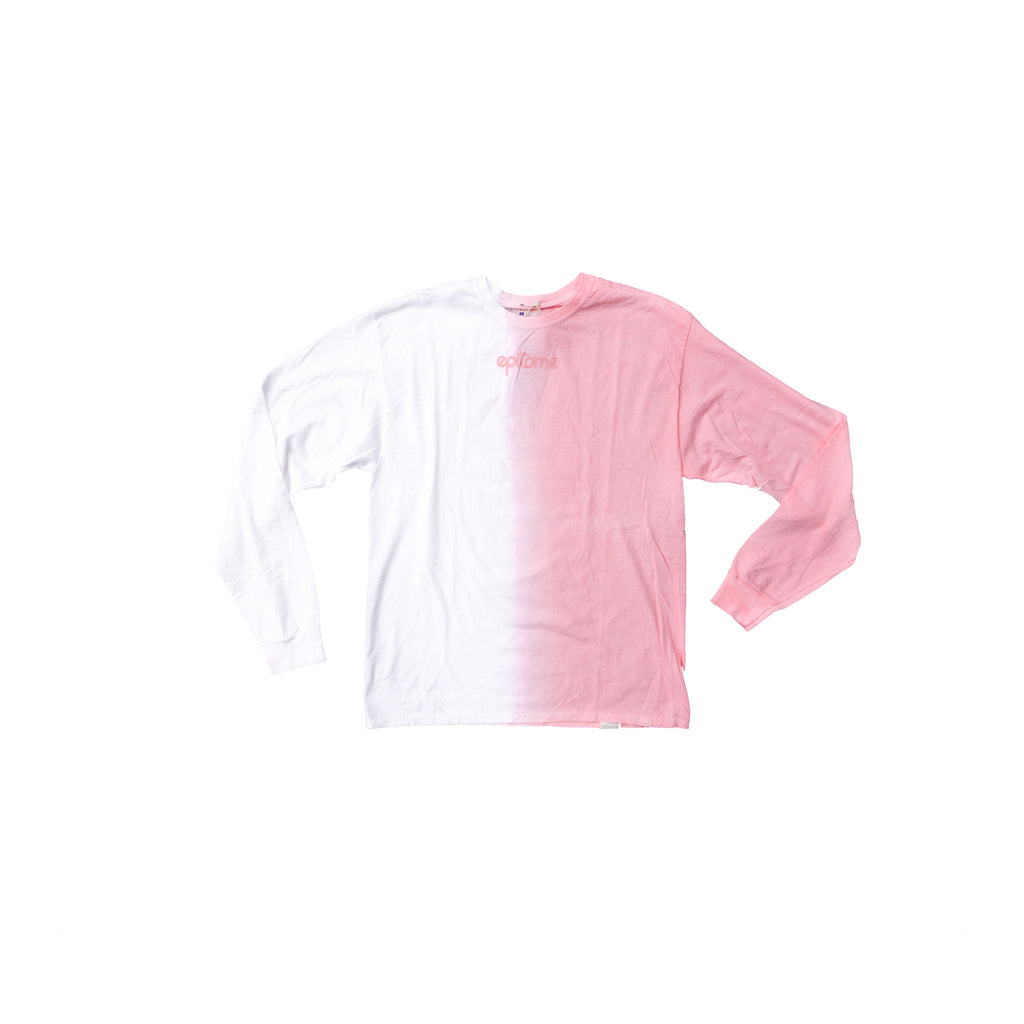 EPITOME ESSENTIAL DIP-DYE LONG SLEEVE (ROSE QUARTZ)