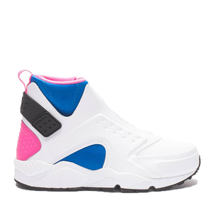 NIKE - WMNS AIR HUARACHE RUN MID (WHITE/PINK), phone order only